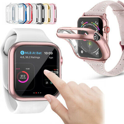 Full 360° Housing Cover Smart Watch Protective Case for Apple Watch 5 4 3 2 1