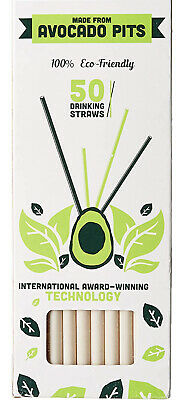 Biodegradable Straw Made from Avocado Seeds   FREE SHIPPING!