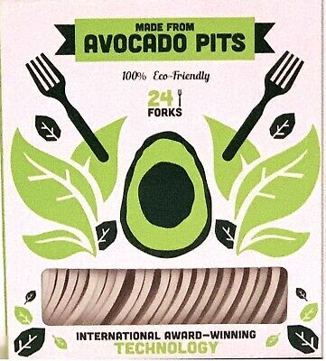 Biodegradable Fork Made from Avocado Seeds