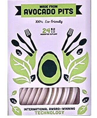 Biodegradable Cutlery Made from Avocado Seeds