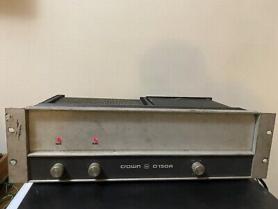 Crown D150a Power Amp. From Pontiac Silverdome.