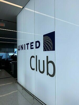 United Club Airport Lounge One-Day Chase Pass E-Delivery Exp 11/15/2020