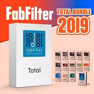 FabFilter Total Bundle VST2/3 Full Version Windows 100% Works Lifetime Licenses