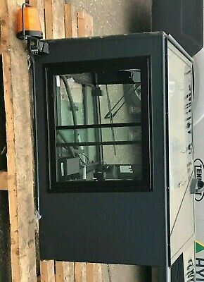 Cab-Tech fully enclosed cab - brand new Hako floor scrubber/cleaning machines.