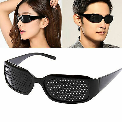 US Unisex Eyesight Eyes Correction Exercise Vision Care Improvement Hole Glasses