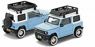 EraCar 12 164 Suzuki Jimny Diecast Blue Roof Carrier First Production Limited