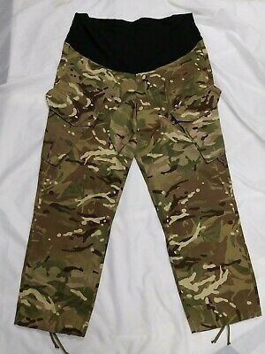 Genuine British Military Army Surplus MTP Maternity Camouflage Combat Trousers