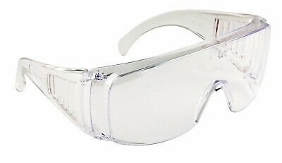 Portwest  Safety Glasses Spectacles Over Specs Eye Protection anti fog flu dust