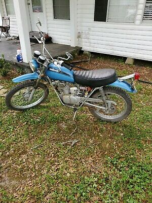1970 Honda 125 Motorcycle In Good And Running Condition Everything Is Original
