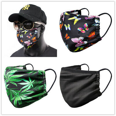 Lovely Printed Dust-Proof Wind-Proof Face Shield Casual Washable Face Cover