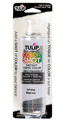 White Fabric Spray Paint For Natural And Synthetic Fabrics Permanent Washable