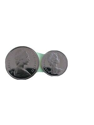 1984 2p&1p Proof Coins