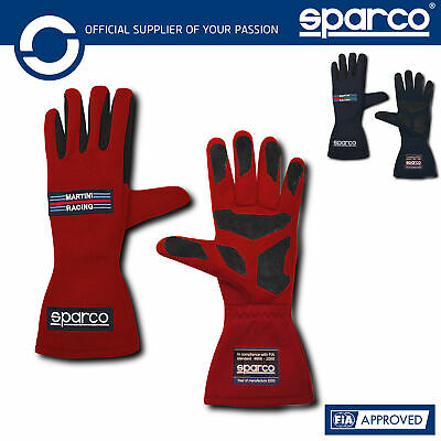 001357MR Sparco Martini Racing Gloves LAND CLASSIC HERITAGE EDITION 2020 FIA