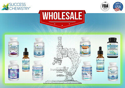 Wholesale pallets of Supplements .👨🏼🔬. MADE IN USA by Success Chemistry ®🔬