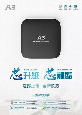 2020 Newest Android A3 TV BOX HTV6