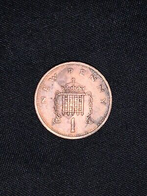 1p 1974 rare NEW PENNY Coin one penny