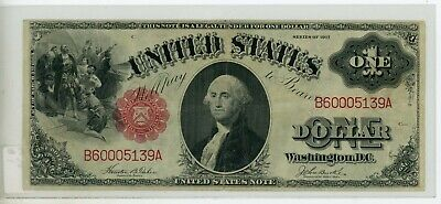 FR-36 Series of 1917 $1 Note United States Legal Tender One Dollar # 139