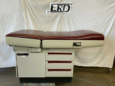 Midmark 404 Exam Table (Red Top)