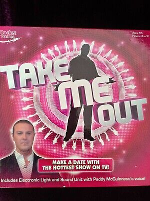SEALED INCLUDES SOUND UNIT TAKE ME OUT BOARD GAME PADDY McGUINNESS/'s VOICE