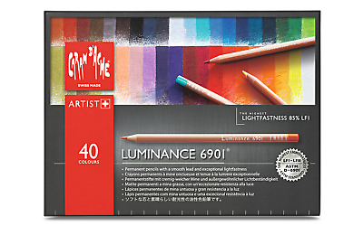 CREATIVE ART MATERIALS Luminance 6901 Color Pencil 225 Moss Green 6901.225
