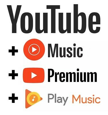 Youtube Premium Youtube Music 1 month to 12 Months UPGRADE OWN ACCOUNT FAST EASY