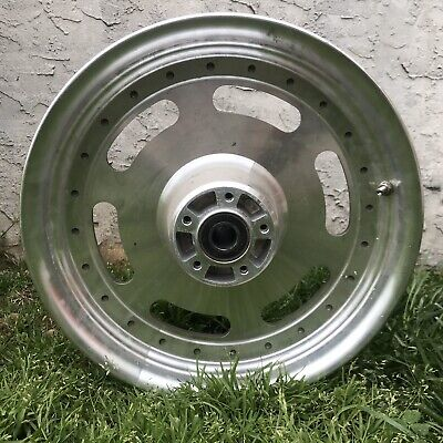 2008-2017 Harley Fat Bob Front Wheel OEM Good Condition 16 In
