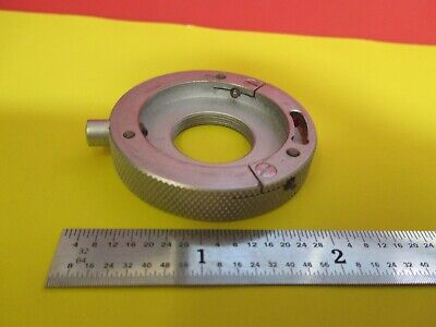 Leitz Germany Phaco Objective Holder Microscope Part As Pictured &Ft-6-134