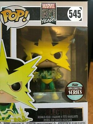 Funko Pop! Electro  #545   Marvel  Specialty Series   Free Shipping