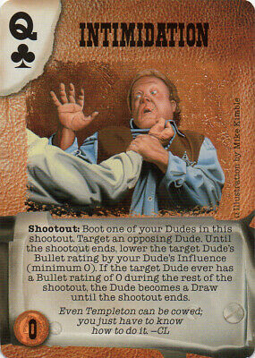 Promos Doomtown Deadlands NM//Lightly Played Doomtown: Sioux Union Mon-Backed
