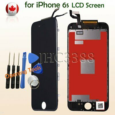 BLACK LCD Touch Screen & Digitizer Display Assembly Replacement For iPhone 6S