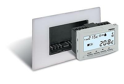 Perry Electric 1TITE540 Thermostat Encastrable Numérique, 3V, Blanc