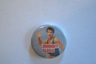 Badge vintage 80's Ø25mm Johnny Clegg