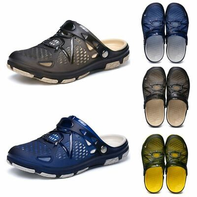 MENS SLIP ON GARDEN Shoes CLOGS Fashion Sport Casual Beach Water mules Slippers