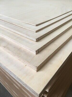 Plywood Birch Fsc In Various Sizes In 4Mm,6Mm,9Mm,12Mm,15Mm,18Mm Sale20%Off
