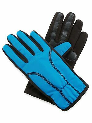 Isotoner Womens SmarTouch Fleece Lined Texting Winter Gloves - Dynasty Blue L/XL