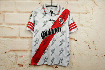 Camiseta Retro Local River Plate Temporada 1996 - 1998
