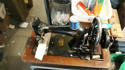 Vintage Rare Wincycle Trading Ltd Queen Victorian Edwardian Sewing Machine