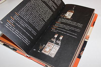 Vintage 1978 photo catalogue alcoholic beverages drinks spirits description bar