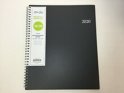 "Blue Sky 2020 Weekly & Monthly Appointment Planner, Flexible Cover, 8.5"" x 11"""
