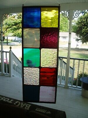 Stained Glass panel----$29 with 10 different colors