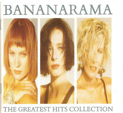 Bananarama-The Greatest Hits Collection CD Album 1988 with Booklet