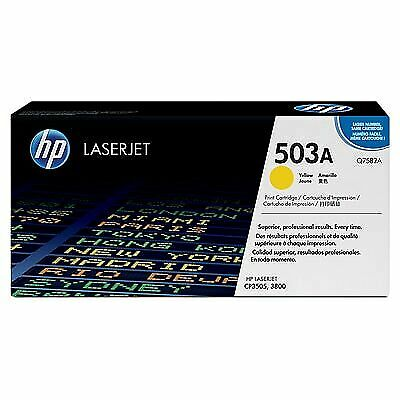 HP 503A | Q7582A | Toner Cartridge | Yellow | ~6,000 pages
