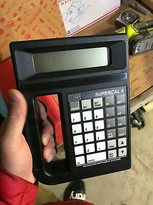 Ris Rochester Instrument Systems Cl-4500 Supercal Ii 2 Calibrator Tester Meter