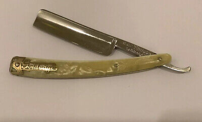 "Vintage 11/16"" Dubl Duck Goldedge Straight Razor Shave Ready Solingen Germany"
