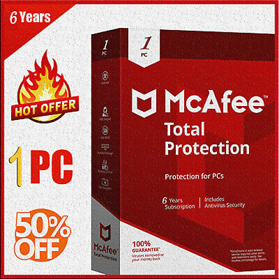 McAfee Total Protection 2020 Antivirus 1 Devices ✅ 6 Years ✅ Ínstant dєlivery🔑