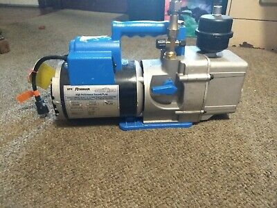 Robinair 15120A High Performance Vacuum Pump, Two Stage, 115 V, 60 Hz