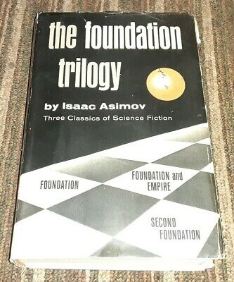 The Foundation Trilogy - Isaac Asimov - First Book Club Edition FREE SHIPPING