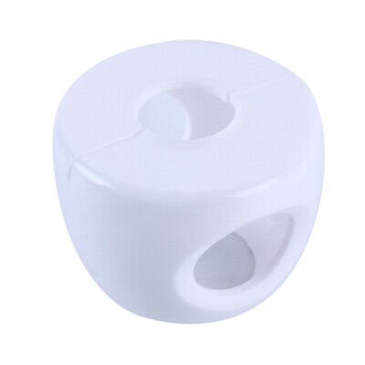 Door Round Button Silicone Safety Cover Door Knob Guard Protector Baby Child F3