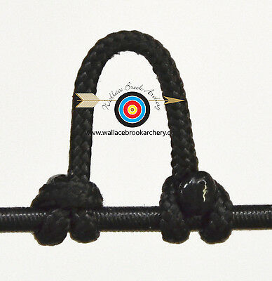 2.4mmx20m Archery Compound Bow String Nock Release D Loop Rope Cord Bowstring GG