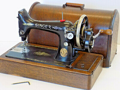Singer Sewing  Machine 99K Hand Crank Antique Collectable 1923